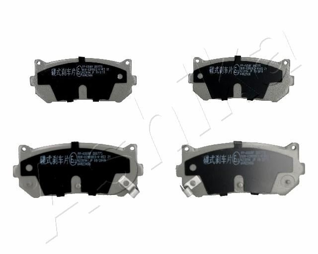 Bremsbelagsatz ASHIKA 51-0K-K00