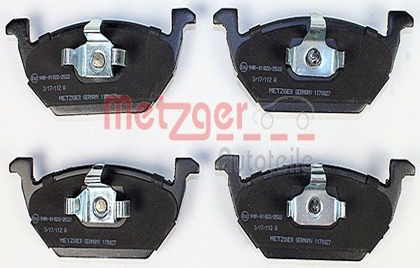 Original AUDI Bremsbelagsatz 1170027