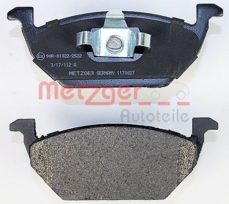 1170027 Bremsbeläge GREENPARTS METZGER 23130 - Große Auswahl - stark reduziert