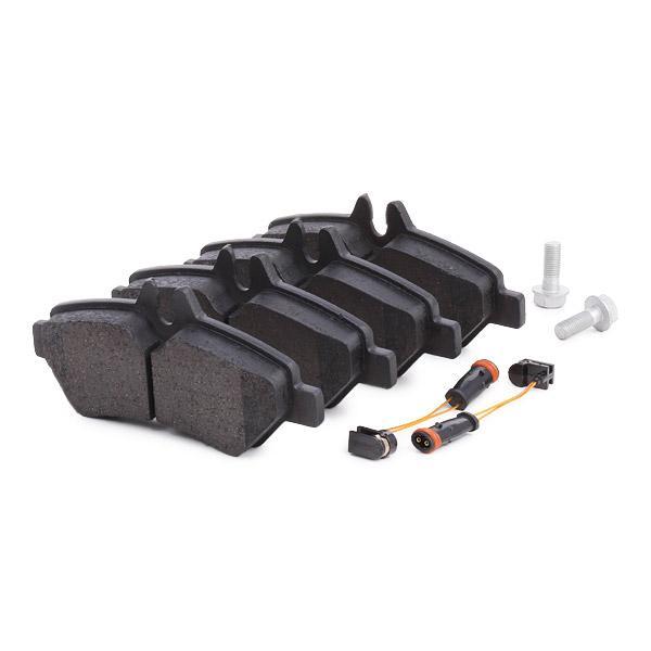 402B0744 Bremsbelagsatz RIDEX - Markenprodukte billig