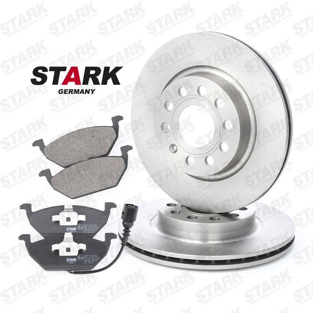 Origine Disques et plaquettes de freins STARK SKBK-1090007 (Épaisseur du disque de frein: 22mm)