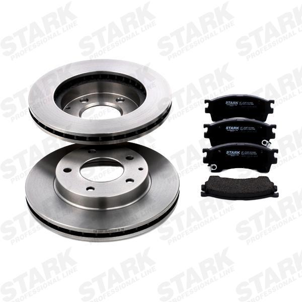 STARK: Original Bremsscheiben und Bremsbeläge SKBK-1090057 (Bremsscheibendicke: 24mm)