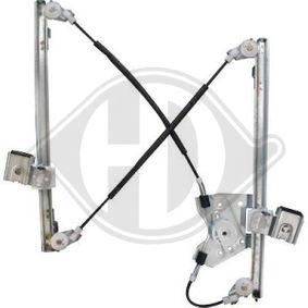 1415122 DIEDERICHS vorne rechts, Betriebsart: elektrisch, ohne Elektromotor Fensterheber 1415122 günstig kaufen