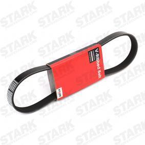 Įsigyti ir pakeisti V formos rumbuoti diržai STARK SKPB-0090008