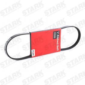 Įsigyti ir pakeisti V formos rumbuoti diržai STARK SKPB-0090015