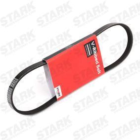 Įsigyti ir pakeisti V formos rumbuoti diržai STARK SKPB-0090110