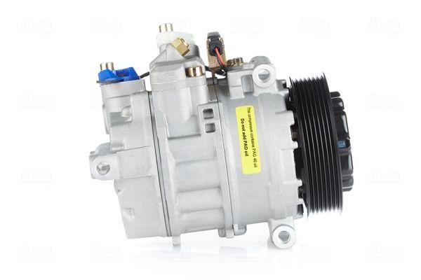 NISSENS: Original Klimakompressor 890294 (Riemenscheiben-Ø: 120mm, Anzahl der Rillen: 7)