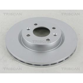 8120 25107C TRISCAN COATED belüftet, beschichtet Ø: 259mm, Lochanzahl: 4, Bremsscheibendicke: 20,6mm Bremsscheibe 8120 25107C günstig kaufen
