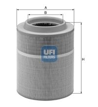 27.A16.00 UFI Luftfilter für GINAF online bestellen