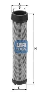 OE Original Sekundärluftfilter 27.A44.00 UFI