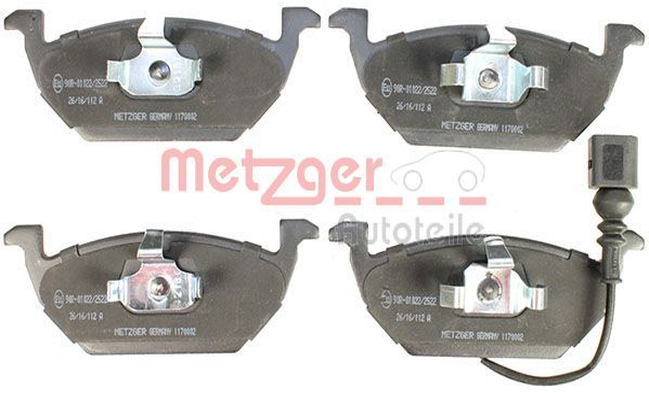 METZGER Bremsbelagsatz, Scheibenbremse 1170002