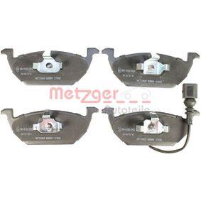 1170002 Bremsbelagsatz, Scheibenbremse GREENPARTS METZGER 23187 - Große Auswahl - stark reduziert