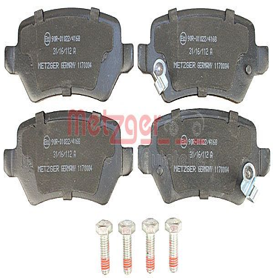 Bremsklötze METZGER 1170004