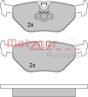 Bremsklötze METZGER 1170014
