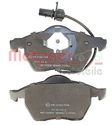 1170020 Bremsbeläge METZGER 23018 - Große Auswahl - stark reduziert