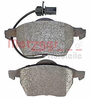 1170020 Bremsbelagsatz METZGER - Markenprodukte billig