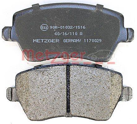 1170029 Bremsbeläge GREENPARTS METZGER 1170029 - Große Auswahl - stark reduziert