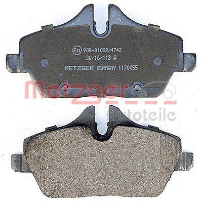 1170055 Bremsbeläge METZGER 23915 - Große Auswahl - stark reduziert