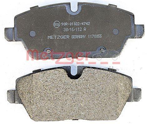 1170055 Bremsbelagsatz METZGER - Markenprodukte billig