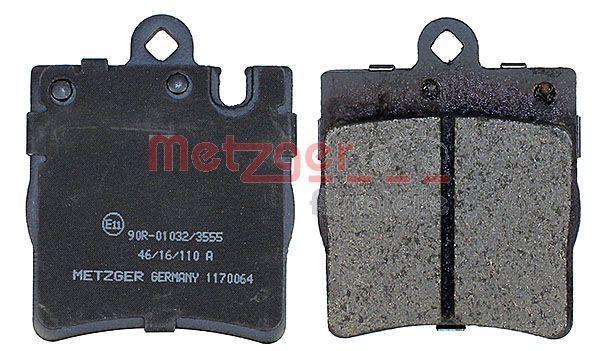 1170064 Bremsbeläge METZGER 1170064 - Große Auswahl - stark reduziert