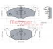 Bremsbelagsatz, Scheibenbremse 1170072 — aktuelle Top OE JZW 698 151 E Ersatzteile-Angebote