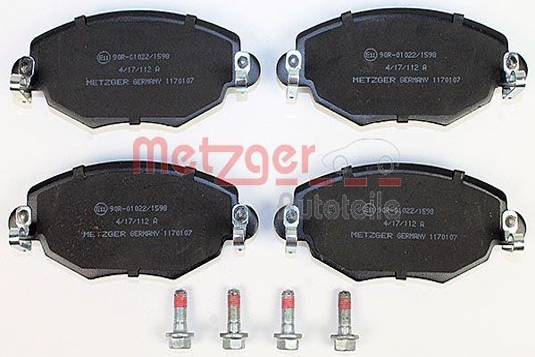 Bremsklötze METZGER 1170107
