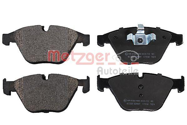 1170168 METZGER Bremsbelagsatz, Scheibenbremse Bewertung