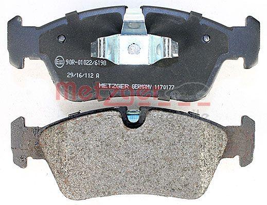 1170177 Bremsbeläge METZGER 23935 - Große Auswahl - stark reduziert
