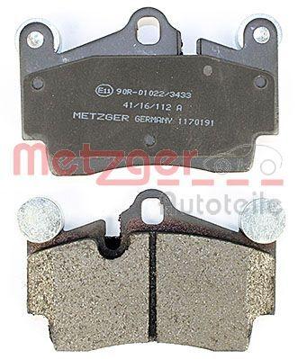 1170191 Bremsbeläge METZGER 1170191 - Große Auswahl - stark reduziert