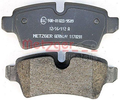 1170201 Bremsbeläge METZGER 24289 - Große Auswahl - stark reduziert