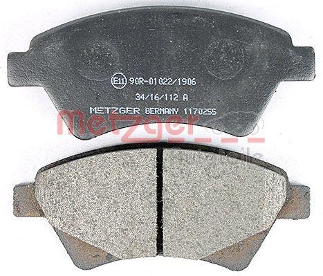 1170255 Bremsbeläge METZGER 23930 - Große Auswahl - stark reduziert