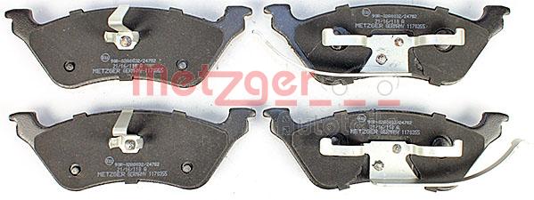 Original JEEP Bremsbelagsatz Scheibenbremse 1170355