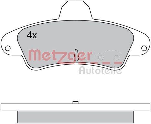 Bremssteine METZGER 1170430
