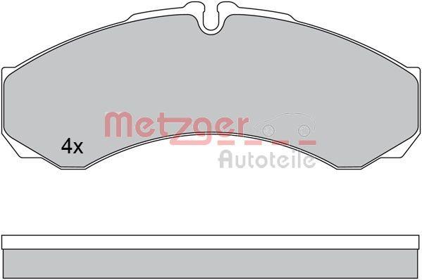 Original IVECO Bremsklötze 1170608