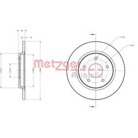6110120 METZGER Voll, beschichtet Ø: 305mm, Lochanzahl: 5, Bremsscheibendicke: 12mm Bremsscheibe 6110120 günstig kaufen