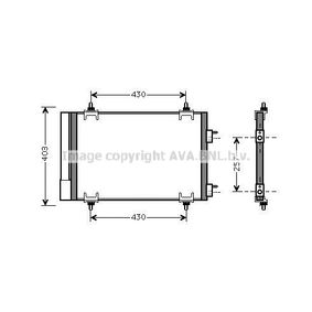 Buy Condenser PEUGEOT 308 cheaply online