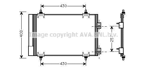 Origine Pièces de climatisation PRASCO CNA5231D (Réfrigérant: R 134a)