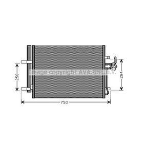 Klimaanlage NRF 35850 Kondensator