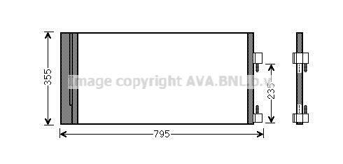 Original RENAULT Kondensator Klimaanlage RTA5430D