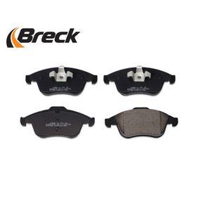 24709 00 701 00 Bremsbelagsatz BRECK - Markenprodukte billig