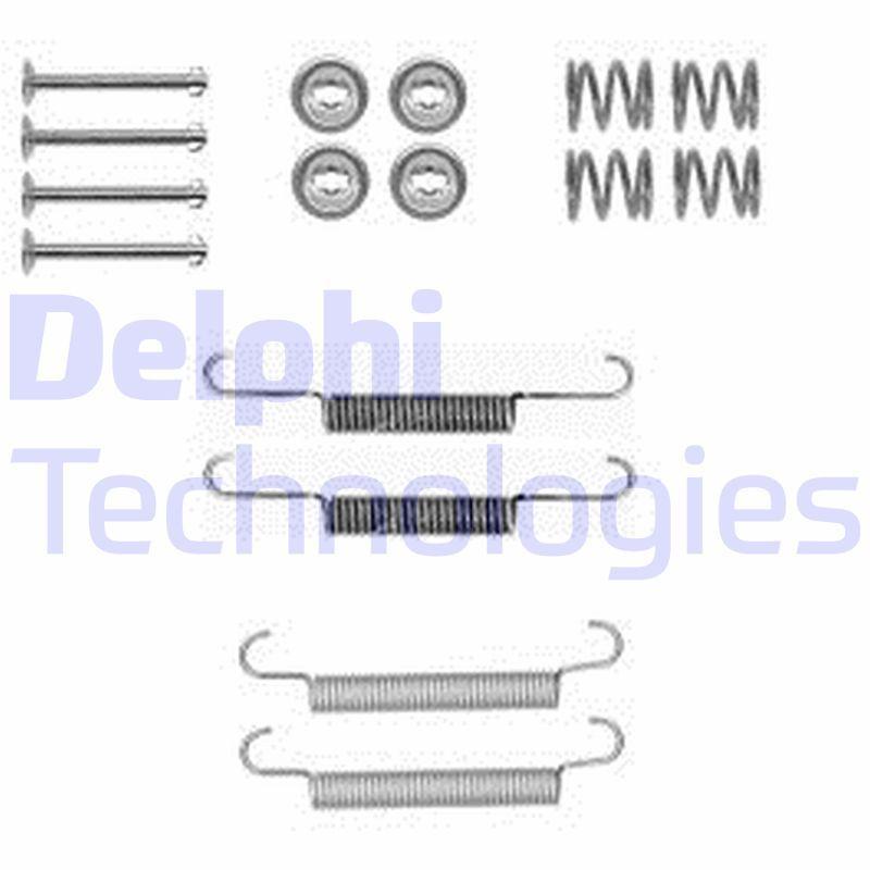OE Original Zubehörsatz Bremsbacken LY1377 DELPHI
