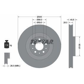 Disco de freno 1 piezas Bosch 0 986 479 736