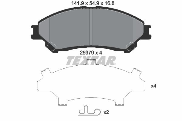 Originali Freni 2597901 Suzuki