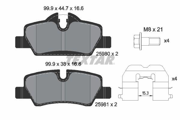 Originali Sistema frenante 2598001 Mini