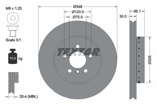 Bremsscheibe TEXTAR 92265725 Bewertungen