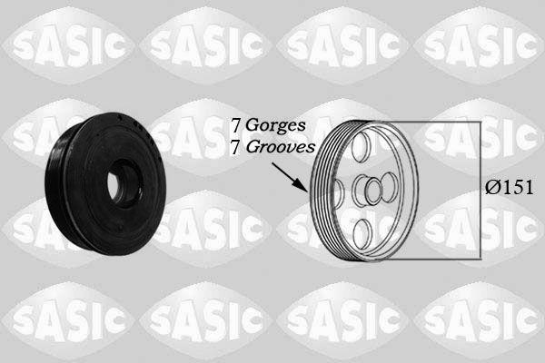 Diržai, grandinės, ritinėliai 2154018 su puikiu SASIC kainos/kokybės santykiu