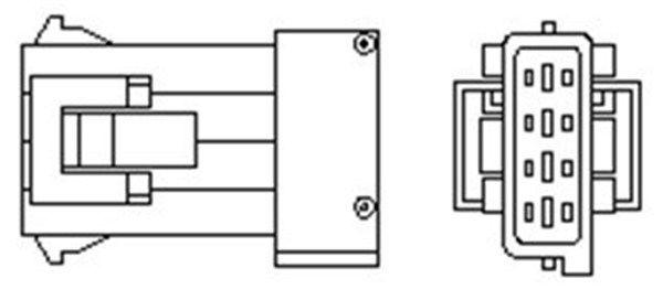 PEUGEOT Capteur lambda d'Origine 466016355096