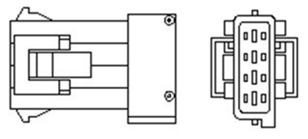 PEUGEOT Sonde lambda d'Origine 466016355096