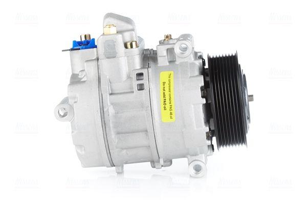 890082 NISSENS PAG 46, Kältemittel: R 134a Riemenscheiben-Ø: 110mm, Anzahl der Rillen: 8 Kompressor, Klimaanlage 890082 günstig kaufen