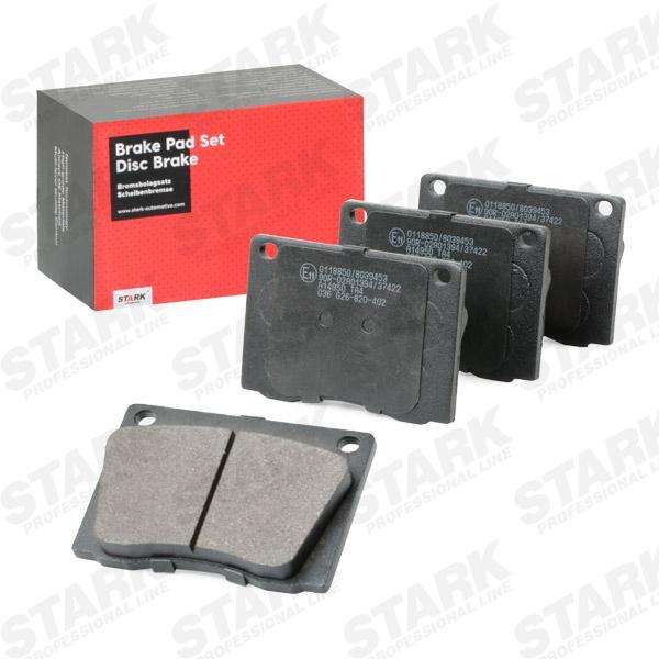 STARK   Bremsbelagsatz, Scheibenbremse SKBP-0011400
